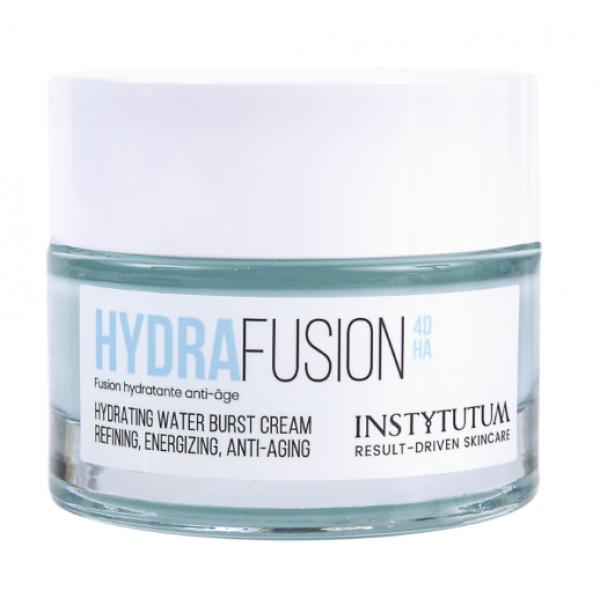 hydrafusion 4d hydrating water burst cream, увлажняющий крем-гель с четырьмя типами гиалуроновой кислоты